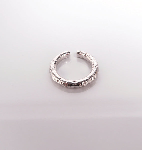 Ice ring • silver
