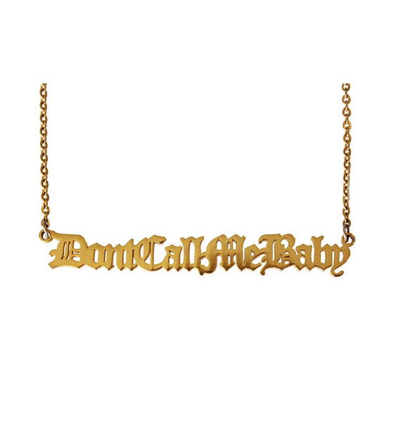 fe:male DCMB necklace • gold