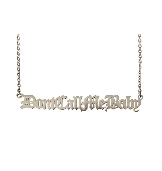 fe:male DCMB necklace • silver