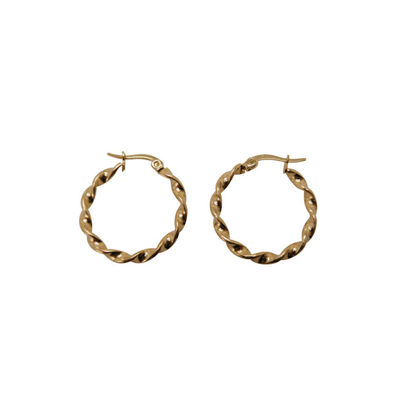 Fold earrings • 20 mm