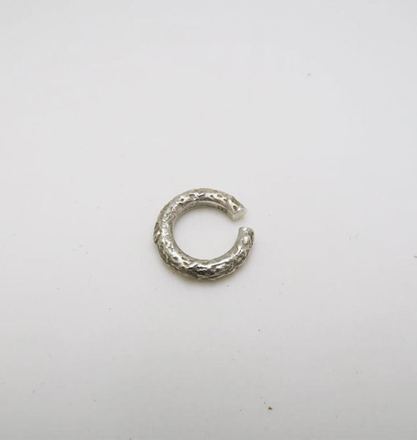 Ice earcuff silver • SINGLE