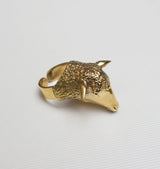 Lamb ring brass