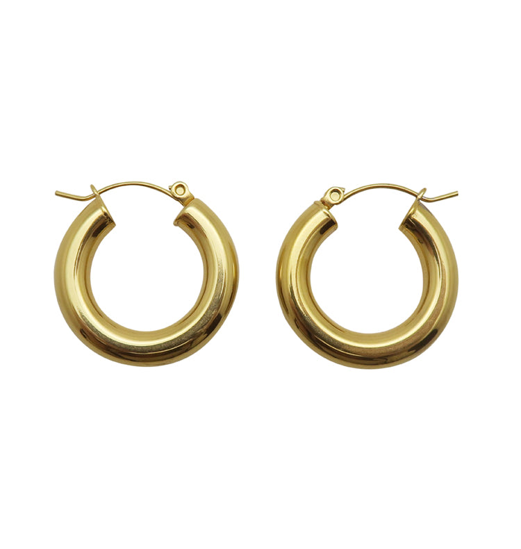 Alice gold • hoops