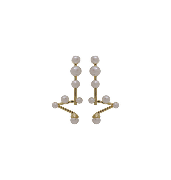 Karlavagnen earrings • gold