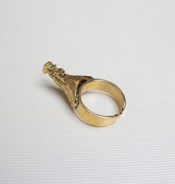 Cock ring brass