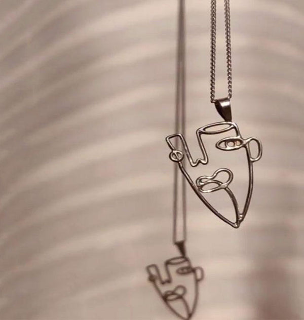 Face pendant design 2