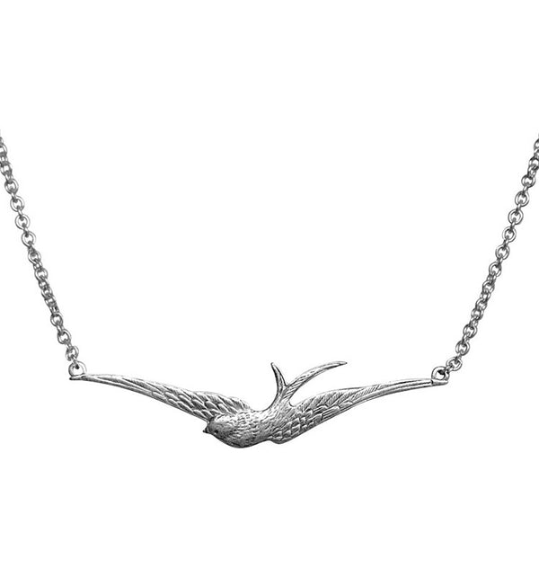 Swallow • halsband silver