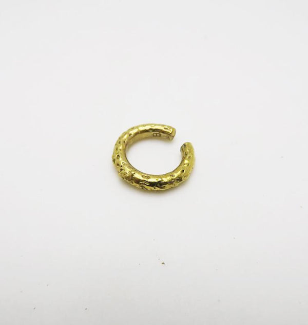 Ice earcuff brass • SINGLE