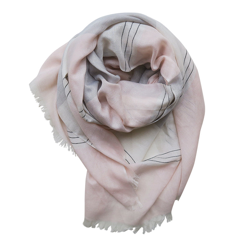 Ice cream scarf • rosa