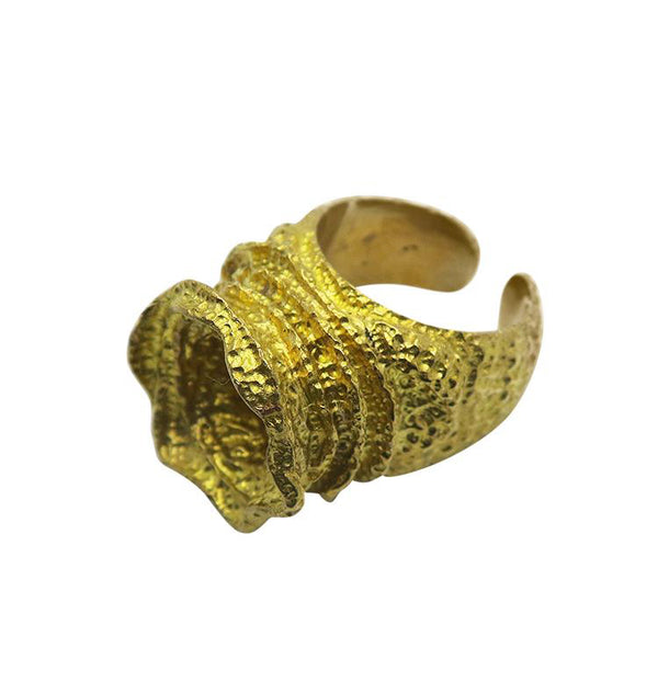 Joker ring • brass