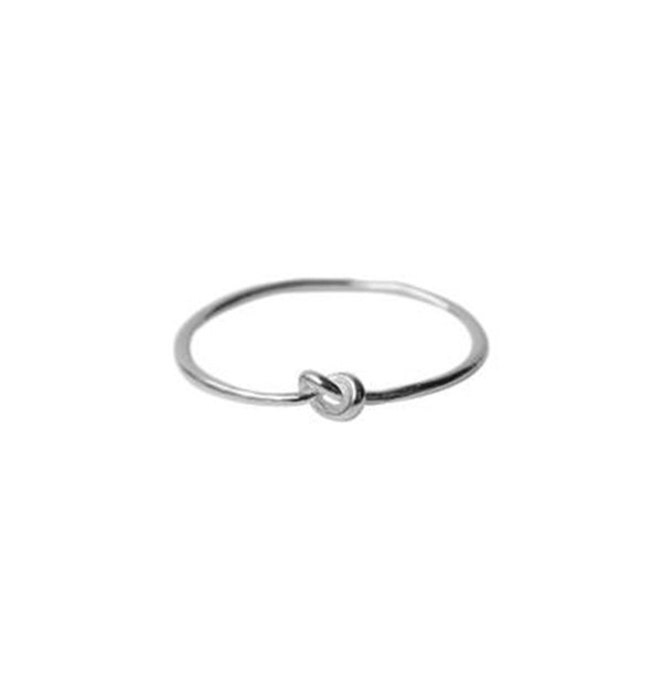 Knot ring • silver