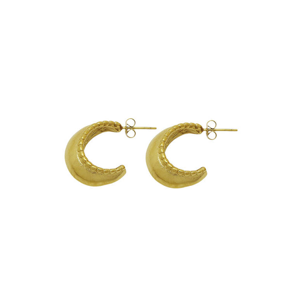 lucy earrings • gold
