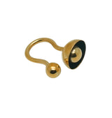 Button Ring • brass