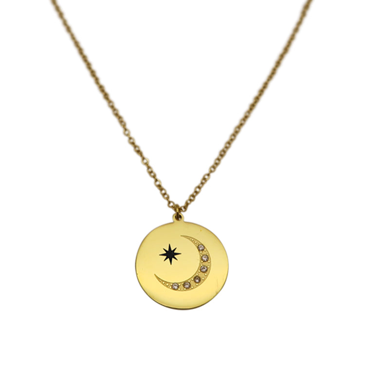 Sailor moon • gold necklace