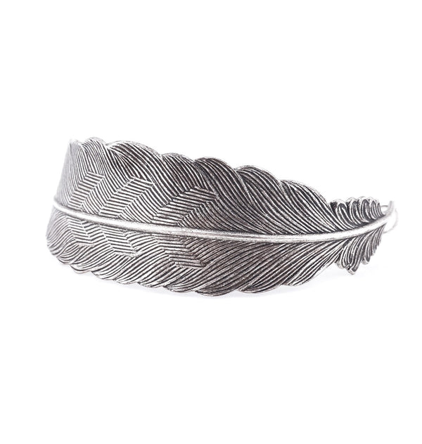 Feather • armband silver