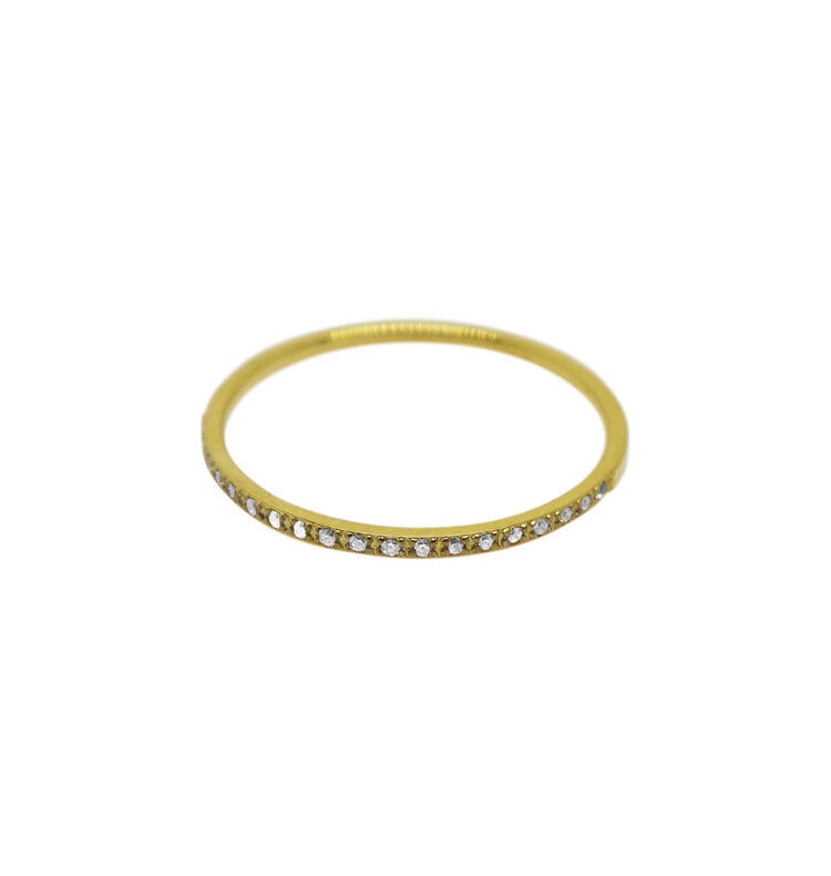 spot ring clear • guld