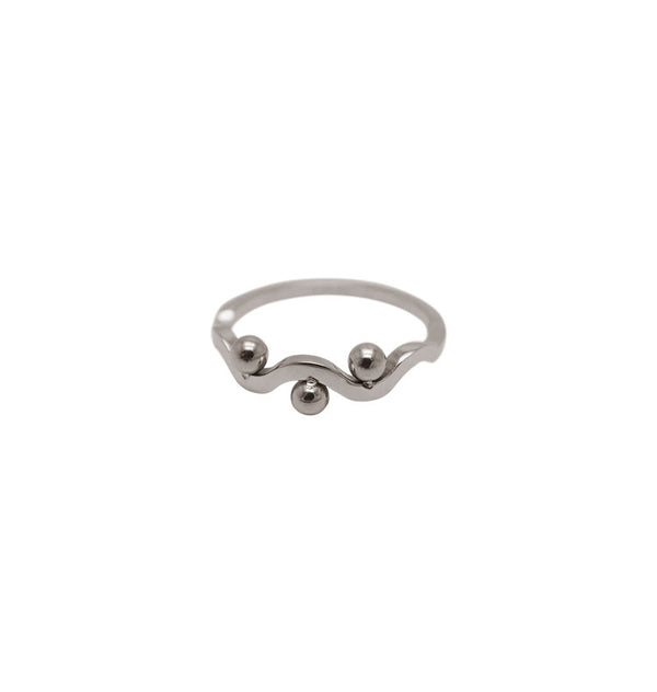 Tre ring silver