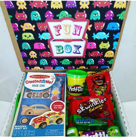 Kit Creativity Fun BOX ( Carrito o Monster Truck)