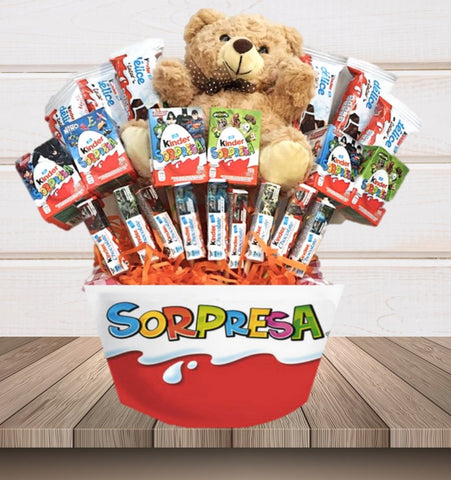 Regalo Bouquet Kinder Sorpresa