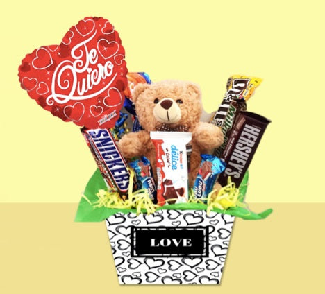Regalo con Chocolates Hugs love