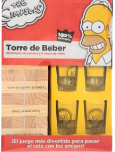 Kit Homero Torre de Beber Novelty
