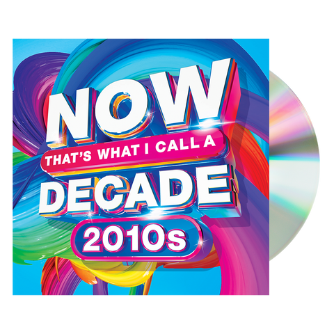 NOW Decades - 2010s CD