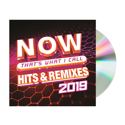 NOW Hits & Remixes 2019 CD
