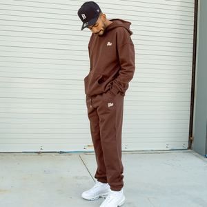 UNIFORM JOGGER CHOCOLATE