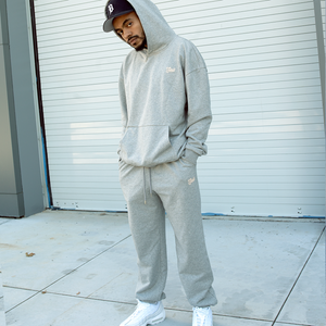 UNIFORM JOGGER HEATHER GREY