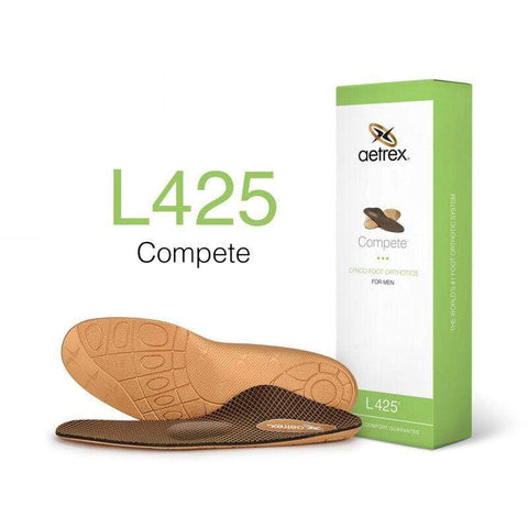 Aetrex Insoles 6 Aetrex Mens L425 Lynco Orthotics Posted/Supported