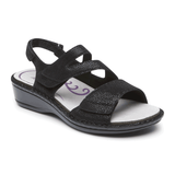 Aravon Sandals Aravon Womens Cambridge 3 Straps - Black