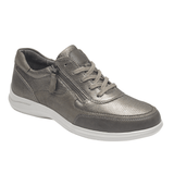 Aravon Shoe Aravon Womens PC Tie Sneakers - Metallic