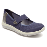 Aravon Shoe Aravon Womens Wembly Mary Jane Shoes - Blue