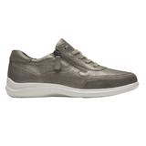 Aravon Shoe METALLIC / 5 / D Aravon Womens PC Tie Sneakers - Metallic