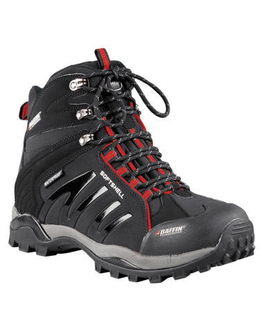 Baffin Boots Black/Red / 6 / M Baffin Mens Zone Boots SOFT-M006 - Black/Red