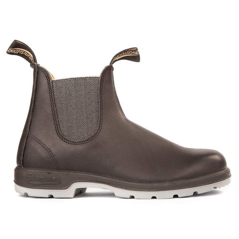 Blundstone Boots Black/Grey / 3 UK / M Blundstone Unisex Leather Lined Classic Boot 1943 - Black /Grey Sole