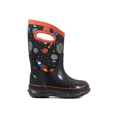 Bogs Kids Boots BLK MULTI / 13 / M Bogs Kids Classic Space Insulated Boots 72287 - Blk Multi 009