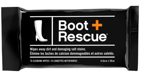 Boot Rescue Shoe Care Boot Rescue (15 Cleaning Wipes/Pack)
