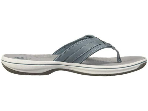 Clarks Sandals Blue Grey / 5 / M Clarks Womens Breeze Sea Sandals - Blue Grey