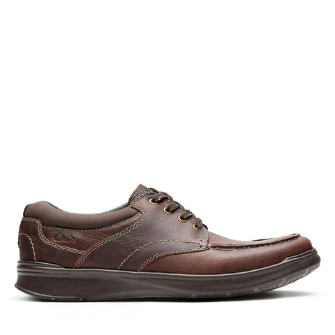 Clarks Shoe Brown Oily / 7 US / M Clarks Mens Cotrell Edge Lace Up Shoes - Brown Oily