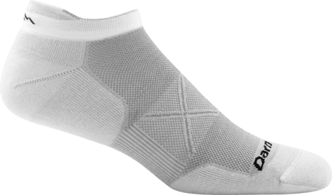 Darn Tough Vermont Socks Gray / XS Darn Tough Mens Vertex No Show Tab Ultra Running Socks 1024 -Light Gray