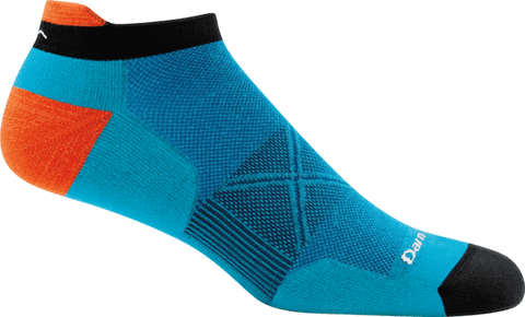Darn Tough Vermont Socks Teal / XS Darn Tough Mens No Show Tab Ultra Running Socks 1024 - Light Sock Teal