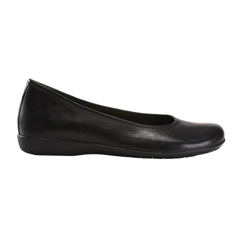 Earth Shoe BLACK / 6 / M Earth Womens Alder Astoria Ballet Flats - Black