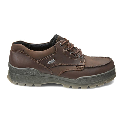 Ecco Shoe Bison/Bison / 38 EU / M Ecco Mens Track II Lace Rugged Oxford Shoes - Bison/ Bison