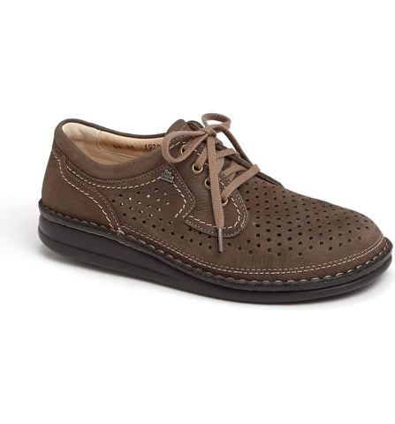 Finn Comfort Shoe coffee / 35 / M Finn Comfort Mens Baden Oxfords - Nubukvienna Kaffee