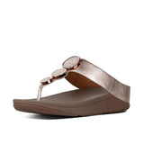Fitflop Sandals Fitflop Womens Halo Toe-Thong Sandals I42 - Rose Gold 323