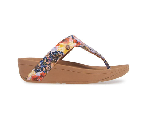 Fitflop Sandals Oyster Pink / 5 US / M (Medium) Fitflop Womens Lottie Flowercrush Sandals - Oyster Pink