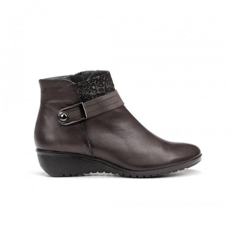 Fluchos Boots Sugar Ebano / 35 EU / M (Medium) Fluchos Femme Yoda Ankle Boots - Sugar Ebano (Brown)