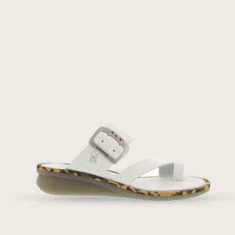 Fly London Sandals Brooklyn Off White / 36 / M Fly London Womens Cops Sandals - Brooklyn Off White