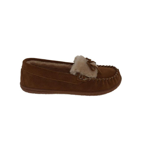 Foamtreads Slipper Chestnut / 5 US / M (Medium) Foamtreads Womens Janis Moccasin Slippers- Chesnut (Medium Brown)